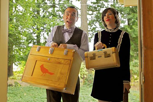 Fred Armisen and Carrie Brownstein from IFC's <em> Portlandia </em>