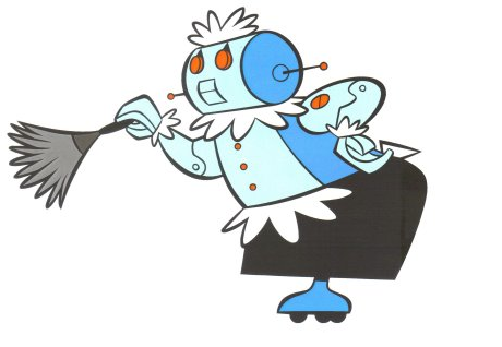 Rosie from The Jetsons, the robot we all wish we had today.
