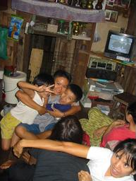 watching local tv