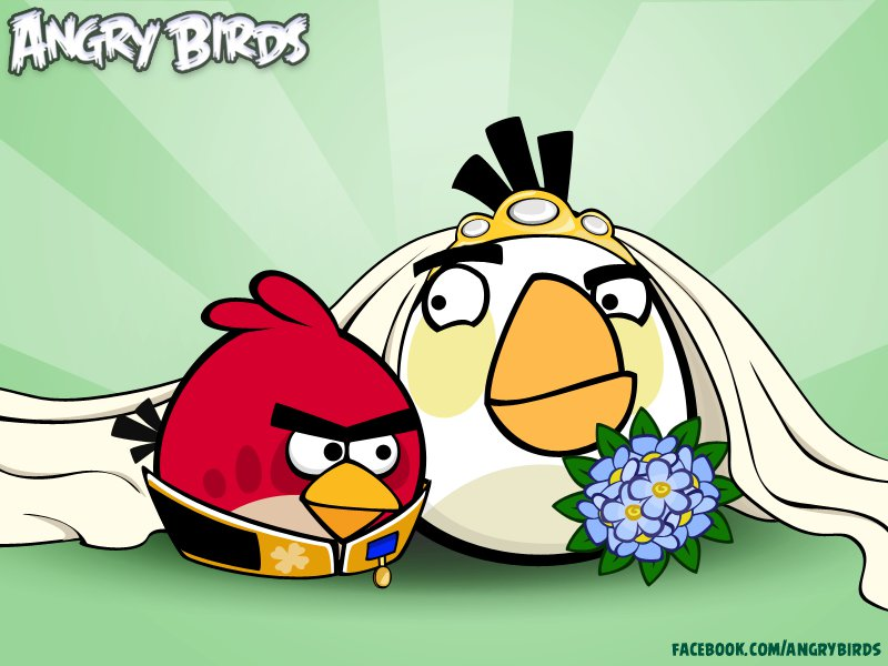 Angry Birds, Royal Wedding Style