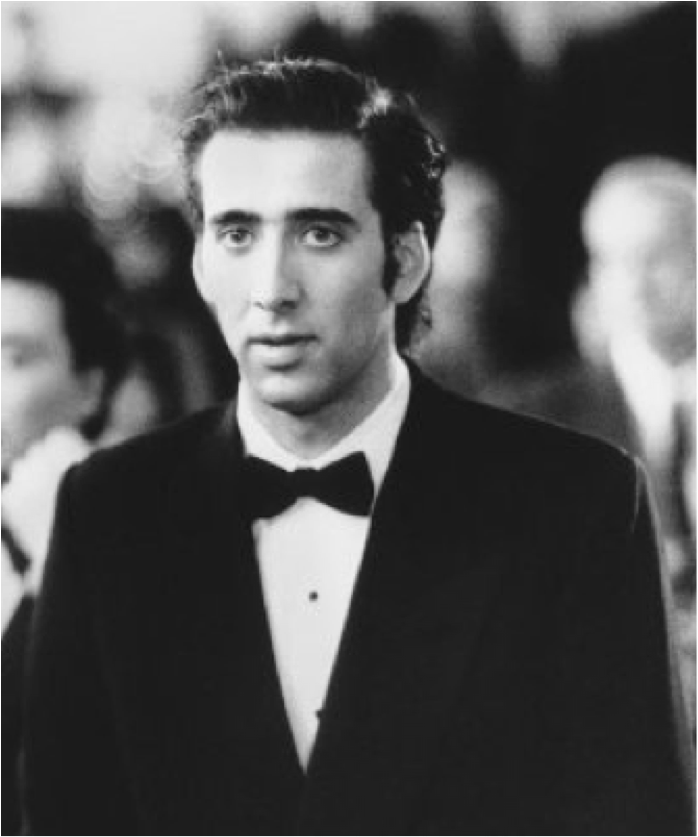 Nic Cage as Ronny in Moonstruck