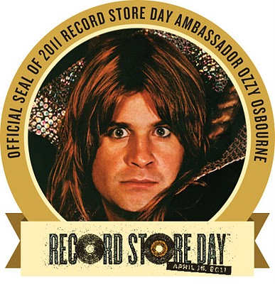 Ozzy Record Store Day Ambassador