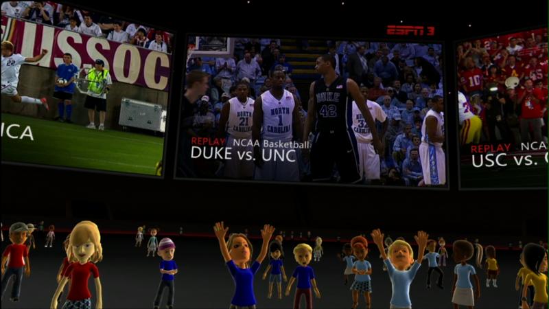 ESPN 3 on Xbox Live