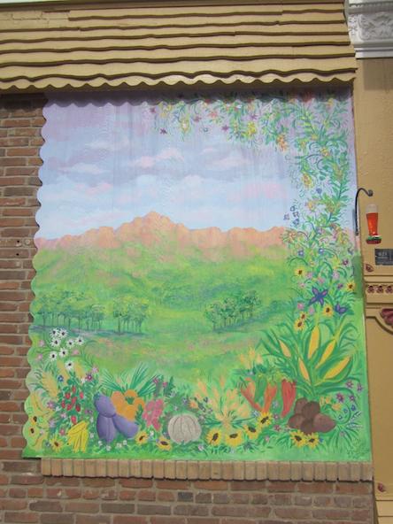 Farming mural