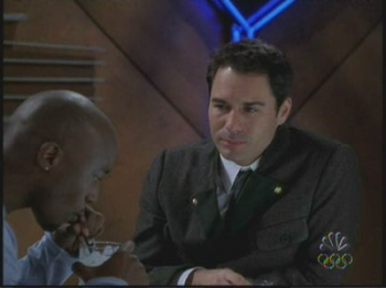 Taye Diggs on NBC's Will and Grace