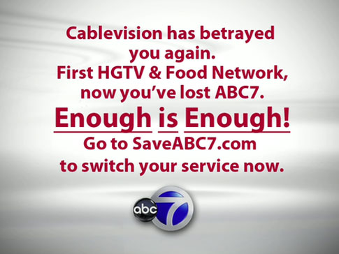 ABC-Cablevision feud