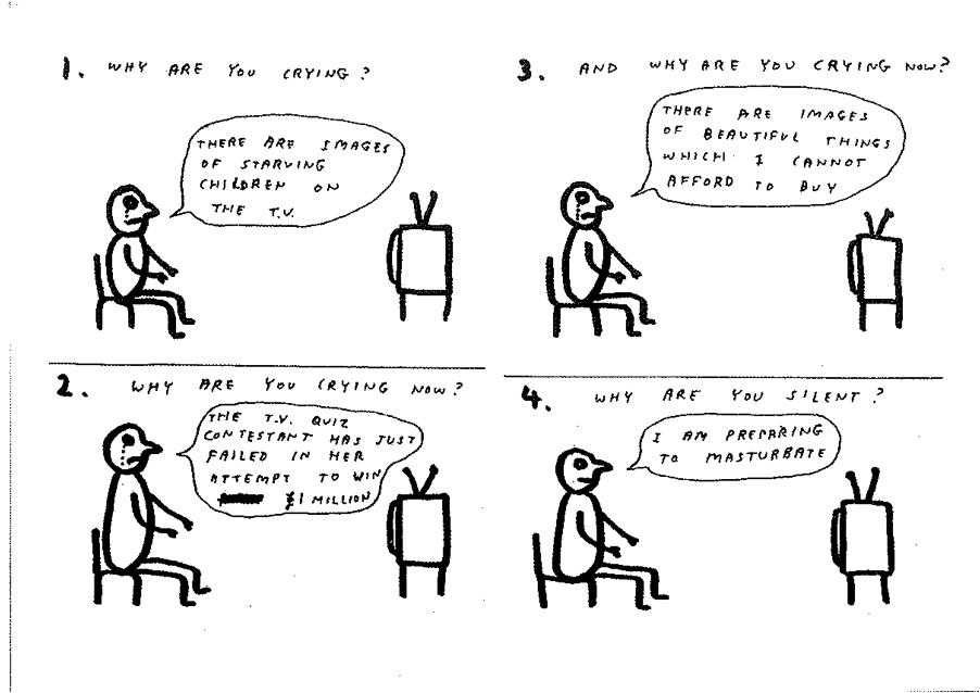 David Shrigley Cartoon