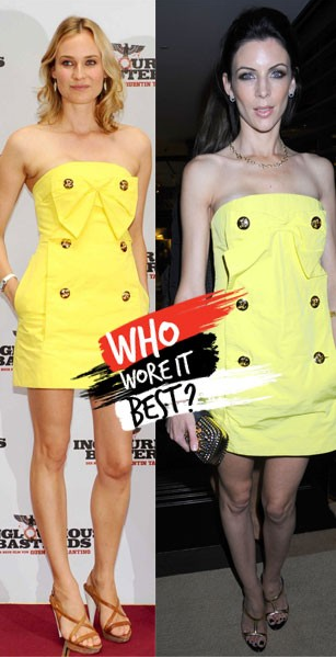 Diane Kruger vs. Liberty Ross
