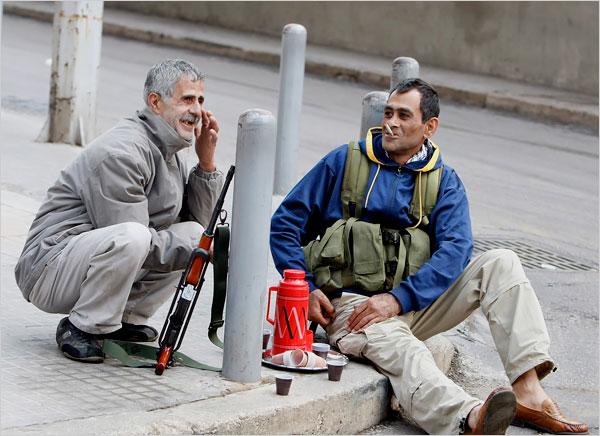 Beirut gunman coffeebreak