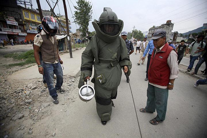 Bomb suit Kathmandu