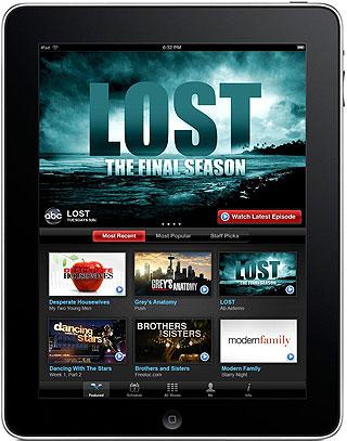 ABC Shows on the iPad