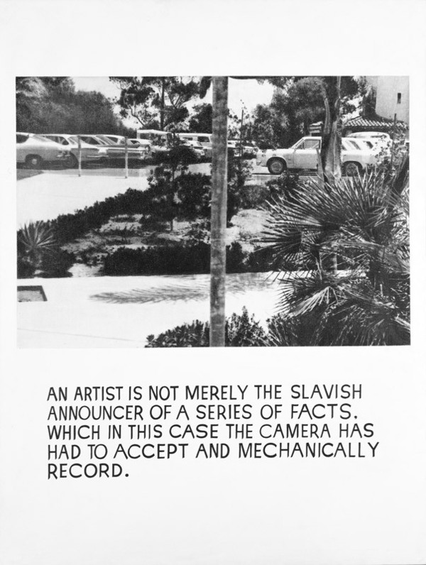An Artist Is Not Merely the Slavish Announcer
