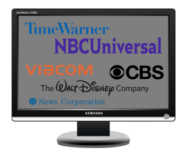 CONGLOMERATES ON TV SET