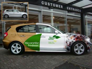 Nicorette Car Ad