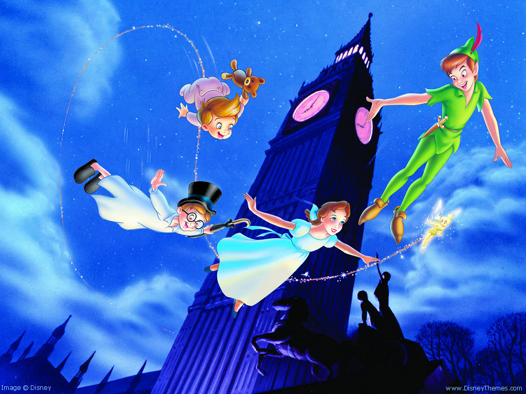 Flying in Peter Pan
