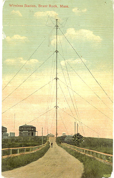 Brant Rock Radio Tower circa 1910