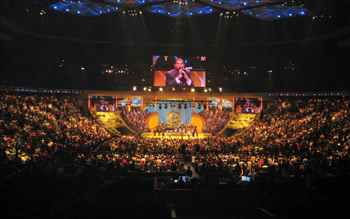 Lakewood Church in Houston, Texas