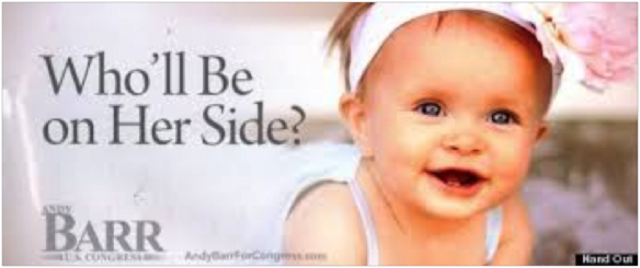 Andy Barr pro-life campaign mailer