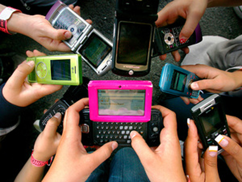 Through text messaging users share day to day experiences, emotions and activities