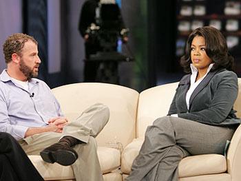 Oprah and James Fry