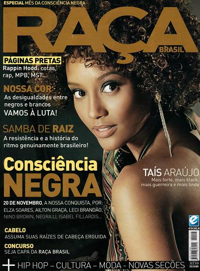Revista Raça or Race Magazine cover width=