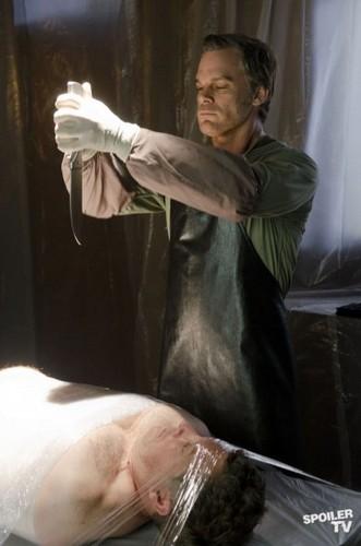 Dexter's ritualistic kill