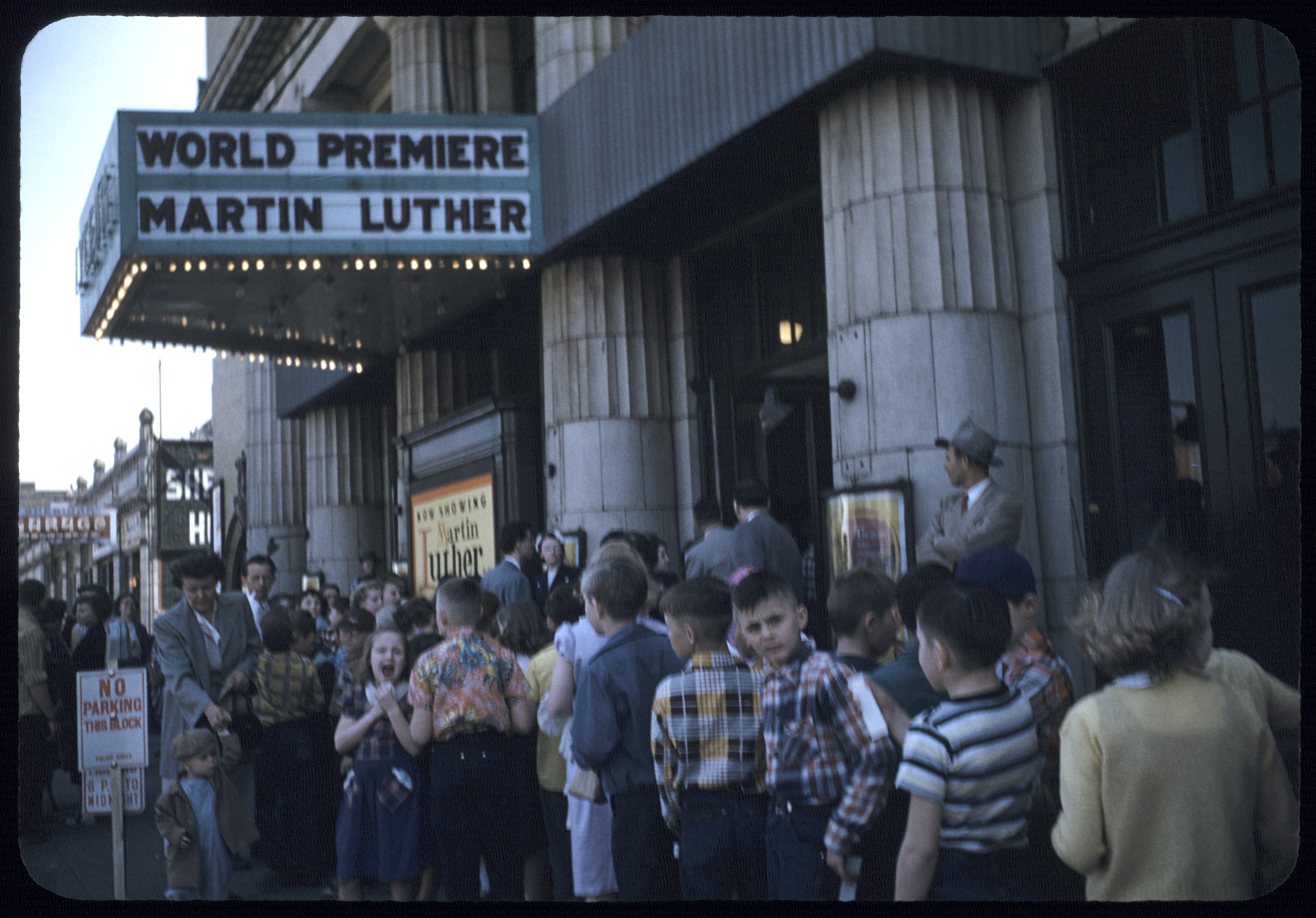 The Martin Luther (1953) World Premiere at the Minneapolis Lyceum Theater