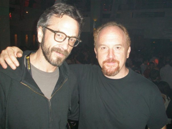 Maron and Louis CK