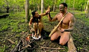 naked and afraid fire