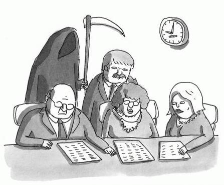 Death Panels New Yorker Cartoon