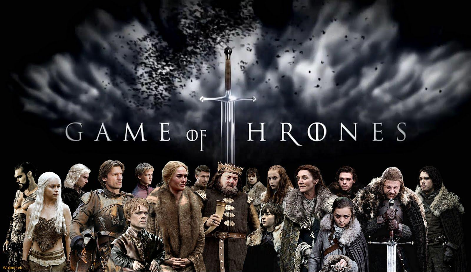 Game of Thrones Cast - First Season