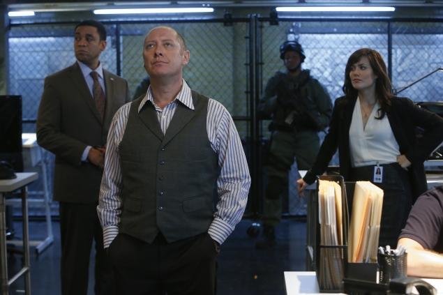 Spader as Reddington