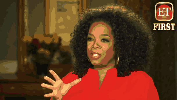 Oprah at the Interview