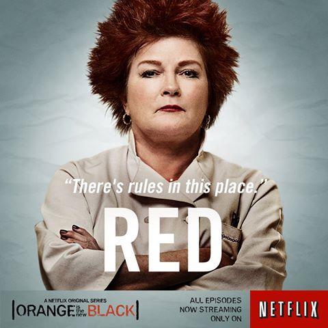 Kate Mulgrew as Red