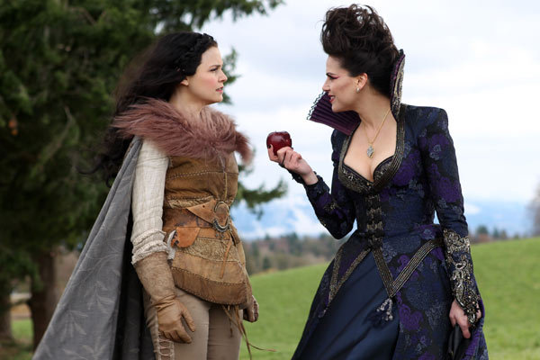 Snow and Regina on Once Upon A Time