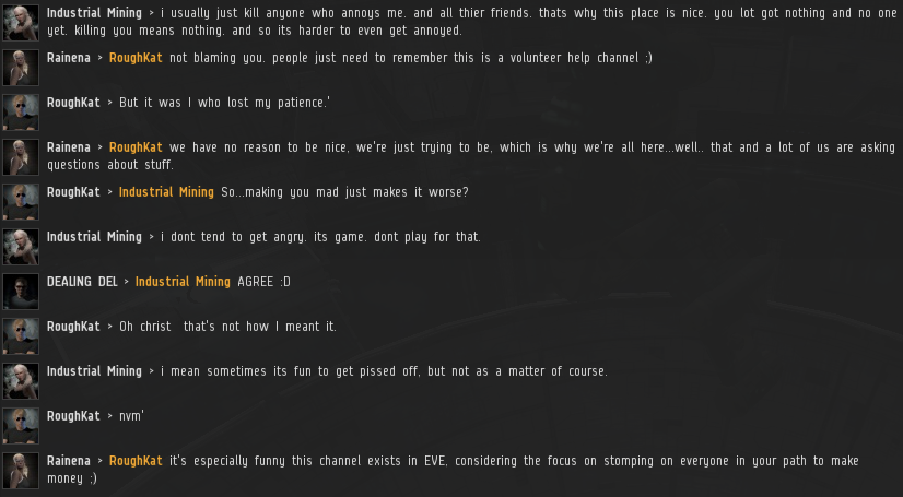 EVE chat