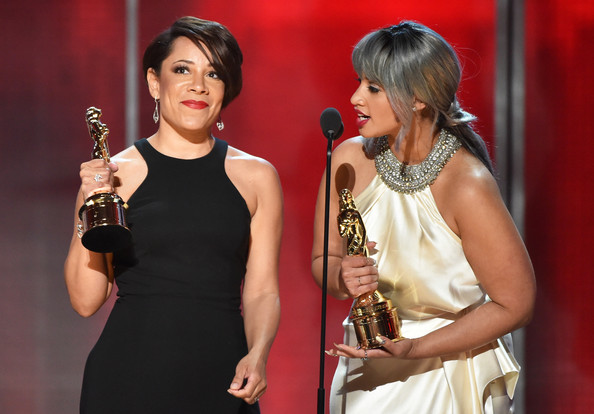 Selenis Leyva and Dascha Polanco