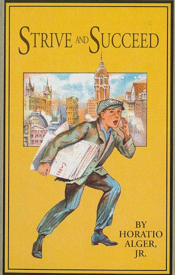 Horatio Alger cover