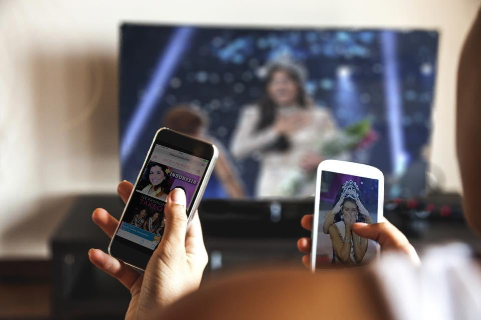 Viewer participation with televised beauty pageants