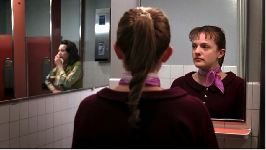 "Peggy Olson in ""Ladies' Room"""